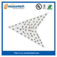 UL Certificate Single Sided Aluminum LED PCB and assembly