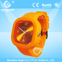 Newest 5ATM Waterproof TOP Quality Watch Custom Jelly watch Silicon Watch own brand