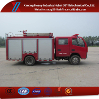 Hot Model Diesel Emergency Rescue 2t Dongfeng Mini Water Tanker Truck