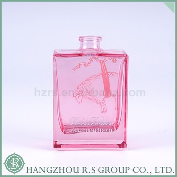 Sell Well Hot Sale Square Glass Bottle Clear