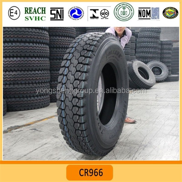big bulk pattern CR869 wholesale 13R22.5 truck tires mine area truck tires