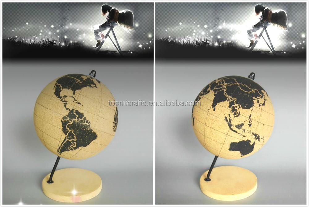 new creative Cork globe
