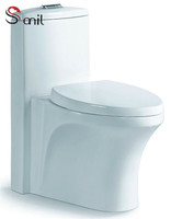 SN7551 WC/washroom/lavatory siphonic one piece toilet