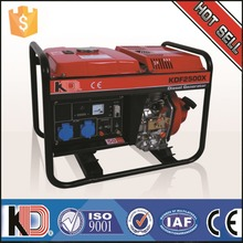 Small portable 5kw diesel generator for sale