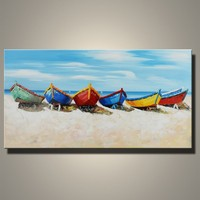 Wholesale Handmade Modern Seascape Oil Paintings Art