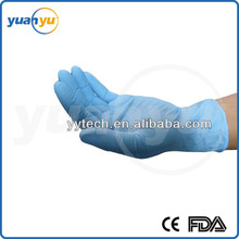 Wholesale factory direct sale cheap price nitrile gloves non sterile disposable nitrile exam gloves with CE ISO3485 FDA