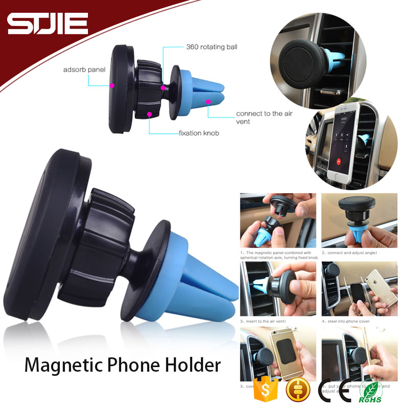 Low price car air vent mount magnet phone holder