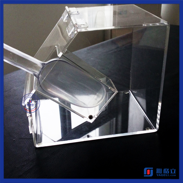 High quality food grade acrylic bulk food storage container