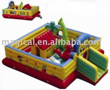 inflatable animal jumping fun city / fun city with bouncing house