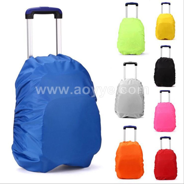 2017 newest outdoor hiking camping cheap waterproof nylon manufacturers wholesale trolley bag rain cover bag dust cover