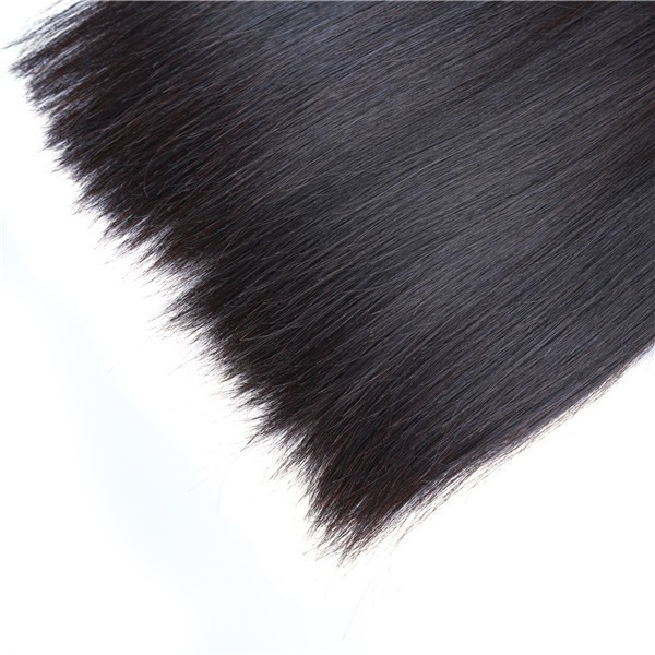 Unprocessed soft and smooth straight mink brazilian hair