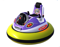 360 angles rotating top quality inflatable bumper car for amusement park