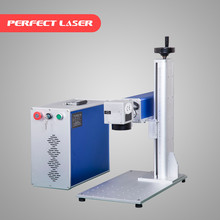20W Metal And Plastic Portable Fiber Laser Marker Machine/Laser Marking Machine for Name Plate Pet Tags metal Laser Engraving