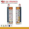 High bond chemical anchoring double component injection epoxy adhesive
