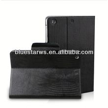 for pu leather wallet case for ipad mini 2 pu leather case