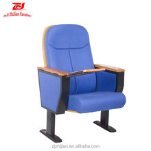 Cheap Auditorium chair with writting pad Auditorium Seating Folding Theater Furniture