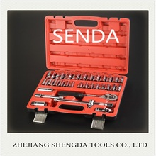 "1/2"" Sockets Combination Spanner Plastic Box 32 Pcs Socket Wrench Set"