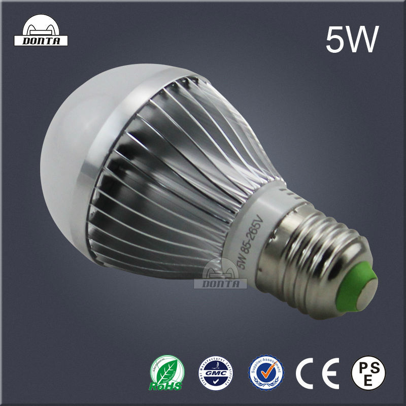 Aluminum housing raw material rechargeable led light bulb with CE ROHS