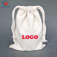 hot sale korean canvas sling sack bag and muslin pouch