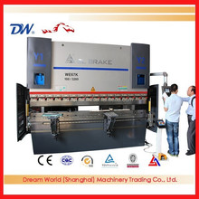 2500mm 3+1 Axes Hydraulic Iron Press Brake , Steel Bending Machine , Metal Bending For Sale
