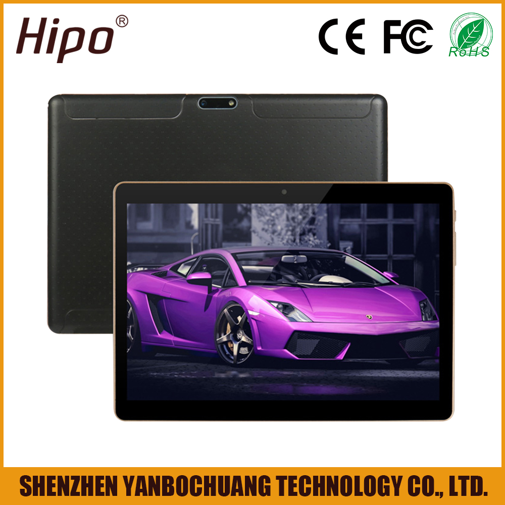 Hipo 10 Inch 1280*800 IPS Screen MTK6580 Quad Core <strong>Android</strong> 5.1 3G GSM WiFi Tablet PC