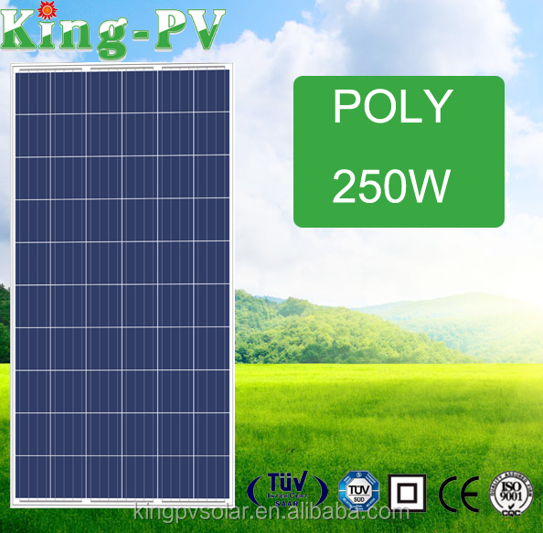 high efficiency 250w-275w PV price per watt solar panels