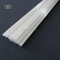 Hot sale milky quartz glass tube for heating