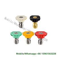 High Quality Wholesale Custom Cheap Quick Disconnect Fittings 5 Pcs Package Nozzle Spray Tips Set