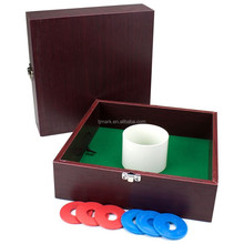 Lawn game MDF washer toss with box toss game
