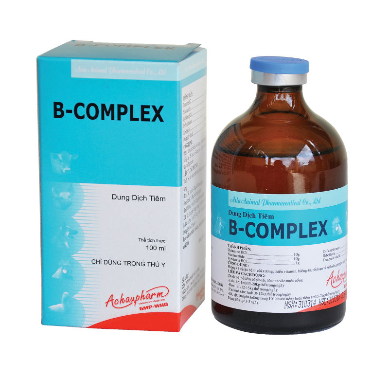 B.COMPLEX Veterinary Injectable Solution