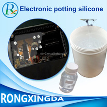 Hot-selling electronic potting silicone rubber ,rtv-2 liquid potting silicone