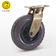 Heavy duty swivel 6/8/10 Inch solid rubber casters and wheels