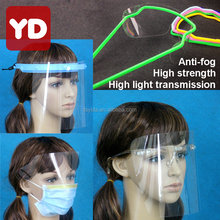 disposable protective face shield dental