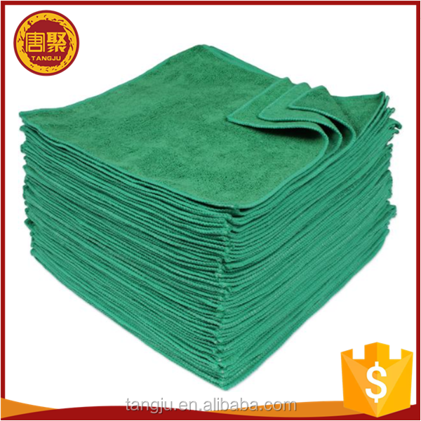 All purpose microfiber cleaning cloth wipe china toalla de microfibra