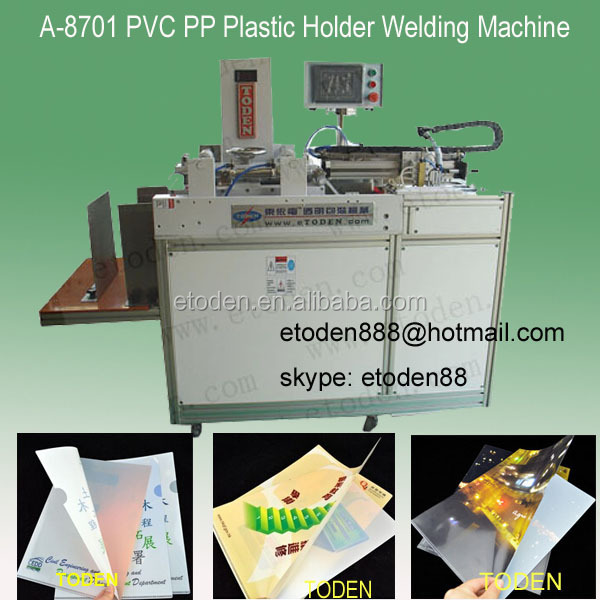 A4 Japanese plastic file folder welding machine