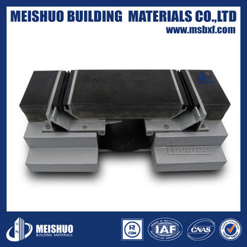 recessed aluminum expansion joints in concrete slabs