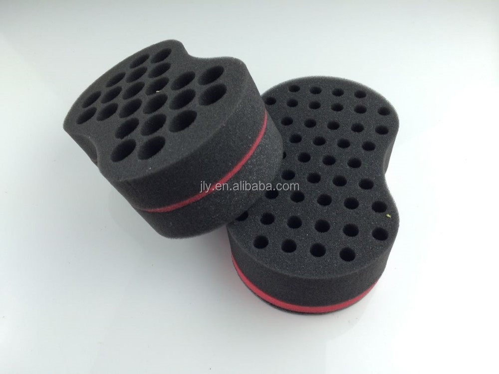 Barber Supplier!!Styling Salon Round Hair Curling Curler Comb Tool Sponge