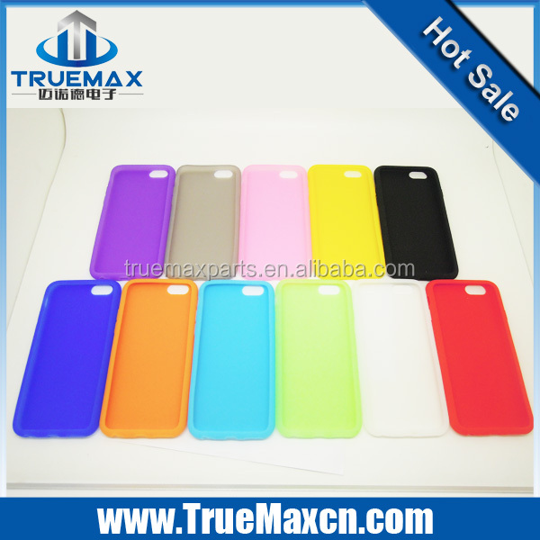 Hot sell new Design Super Thin silicon Cell Phone Case for iphone 6 /case for iphone 6