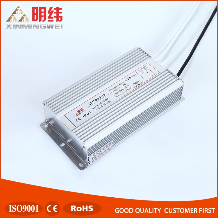 12v 25a Wholesale high power waterproof compact led driver power supply 12V 300W LPV-300-12