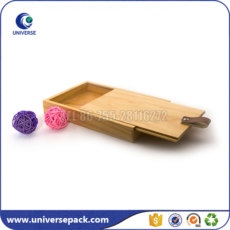 customized solid wood box jewelry display box