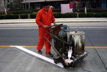 White Yellow Thermoplastic Road Line Marking Paint for highway street traffic