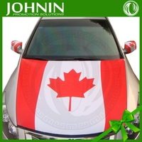 Polyester Material and Flying Style Engine Car Cover Flag