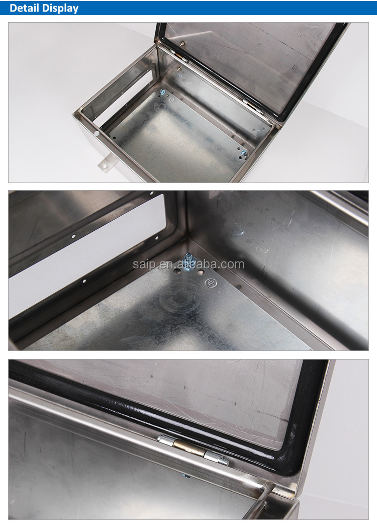 IP67 Waterproof Stainless steel Enclosure 400*300*200 (SP-B3-403020)