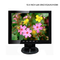 10.4'' inch TFT-LCD DC 12V Monitor PC Monitor for using desktop