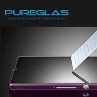 cell phone accessory Tempered Glass Screen Cover For Sony Xperia Z L36h,best quality