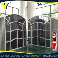 Buy Aluminum fixed arched window in China on Alibaba.com