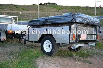 soft floor family camping camper trailer