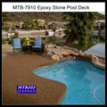 Pool Deck Resurfacing with Pebble Stone Coatings