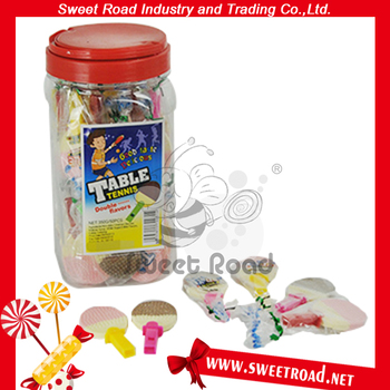 Sweet Gummy Table Tennis Press Candy