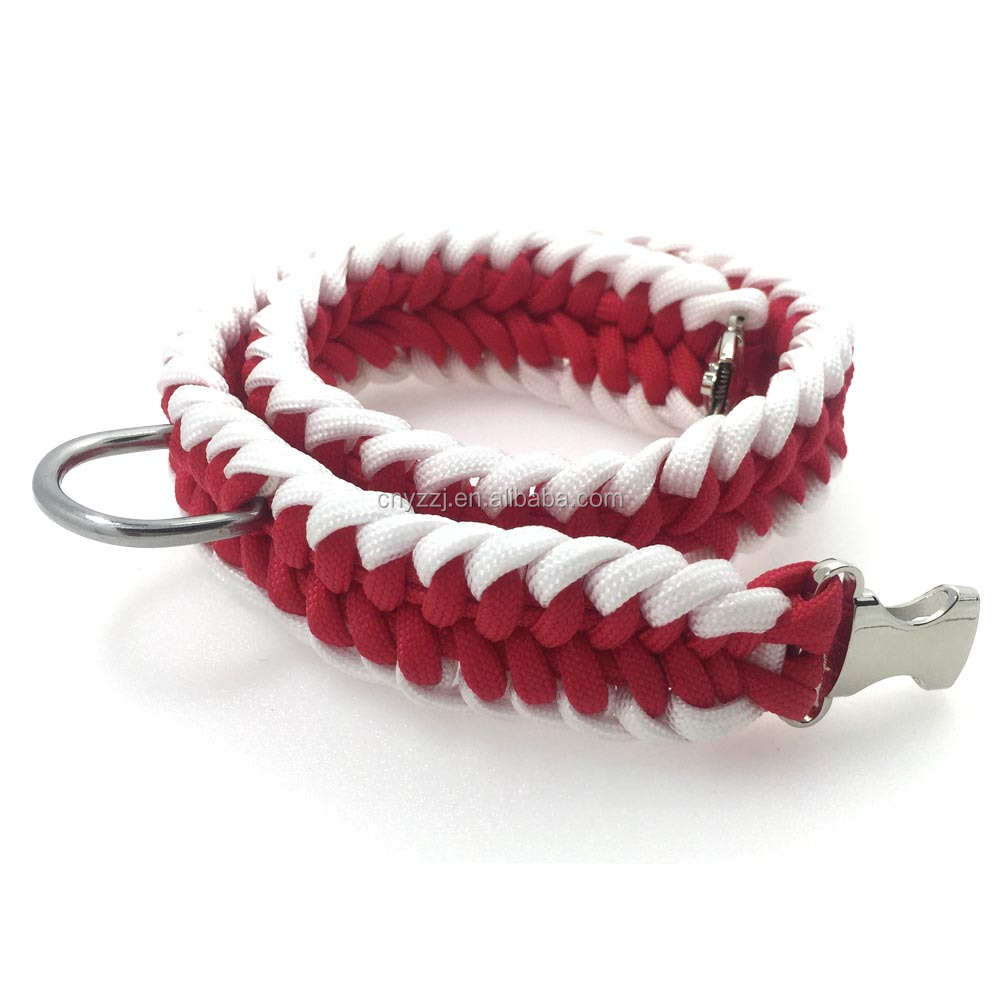 Dog Collar Pet Accessories Best Choice for Medium and Large Dogs,Red 15-18""